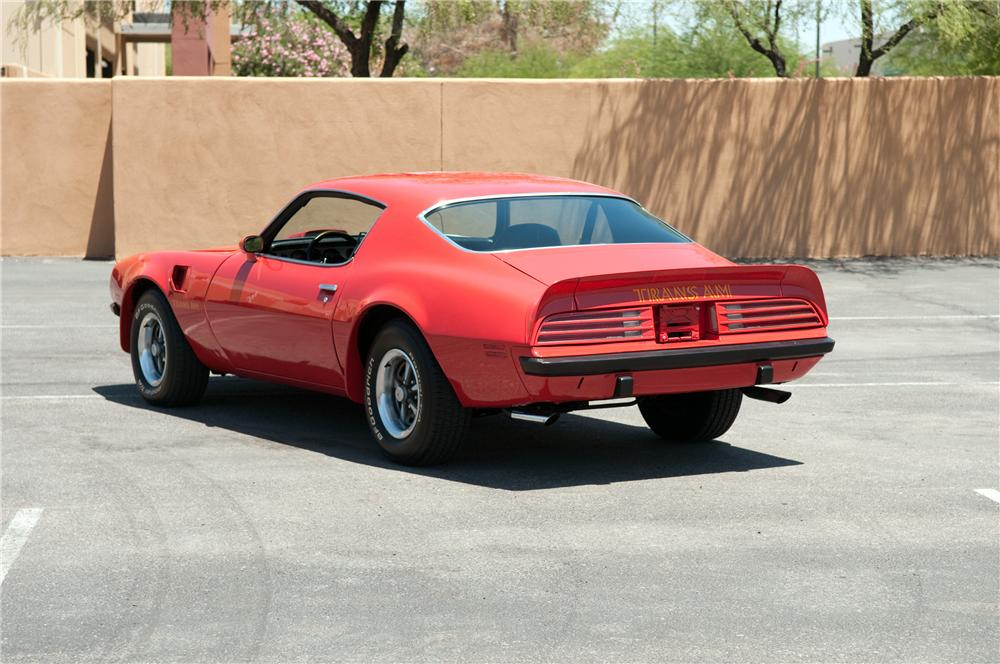 1974 PONTIAC FIREBIRD TRANS AM 2 DOOR COUPE - Rear 3/4 - 130910