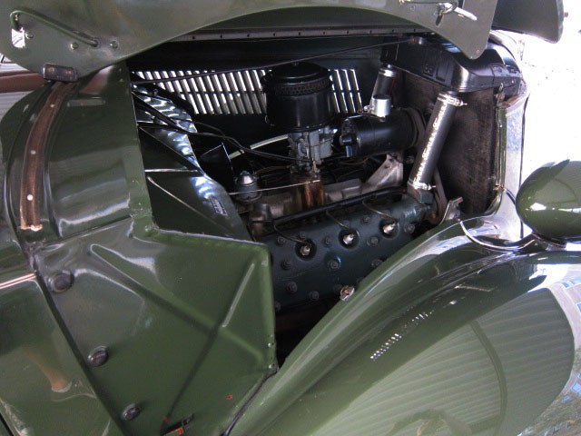 1936 FORD PHAETON CONVERTIBLE - Engine - 130911