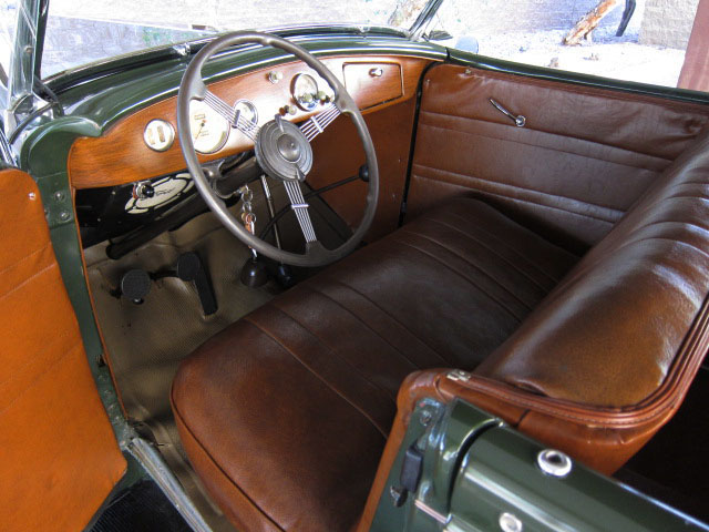 1936 FORD PHAETON CONVERTIBLE - Interior - 130911