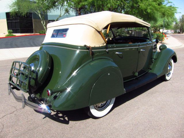 1936 FORD PHAETON CONVERTIBLE - Rear 3/4 - 130911