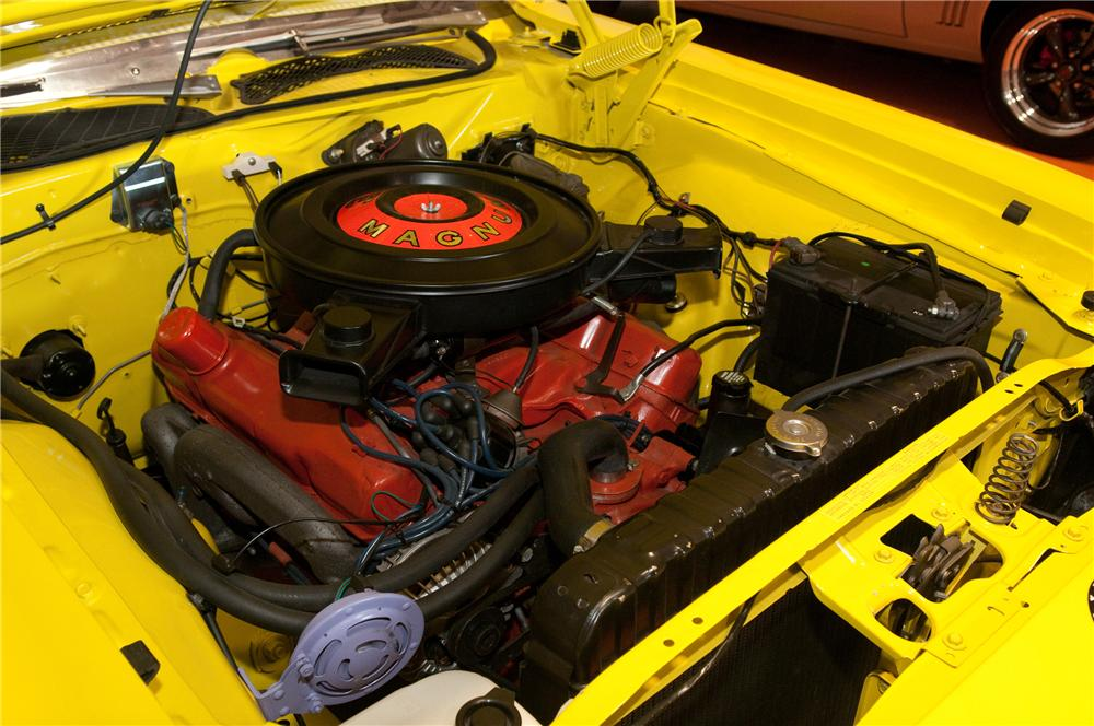 1971 PLYMOUTH ROAD RUNNER 2 DOOR COUPE - Engine - 130912