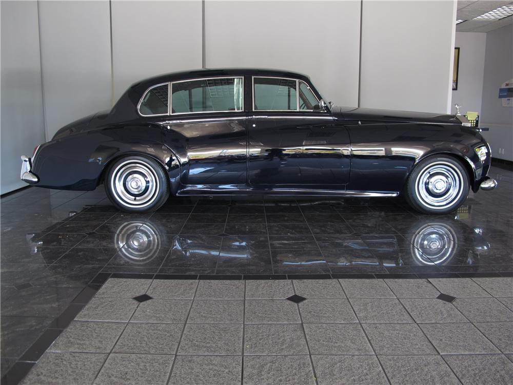 1961 ROLLS-ROYCE SILVER CLOUD II 4 DOOR SEDAN - Side Profile - 130923