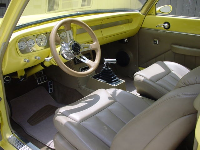 1965 ford ranchero custom pickup interior 130924