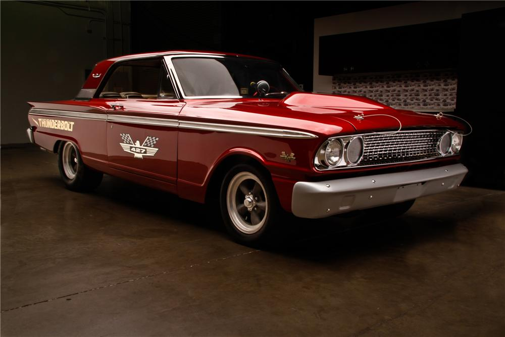 1963 FORD FAIRLANE 500 THUNDERBOLT RE CREATION