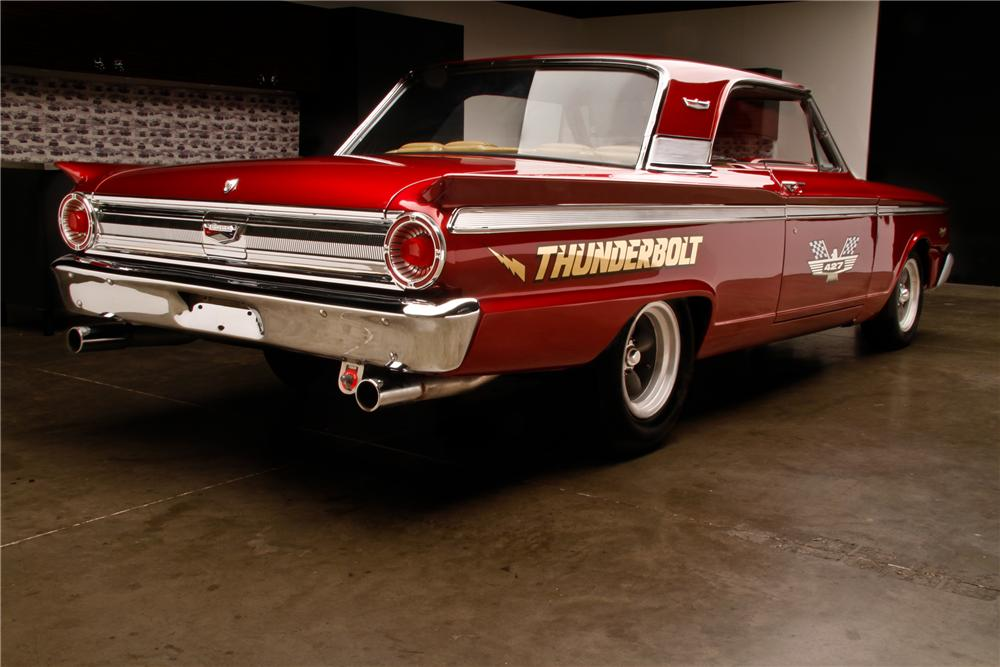 1963 FORD FAIRLANE 500 THUNDERBOLT RE-CREATION - Rear 3/4 - 130932