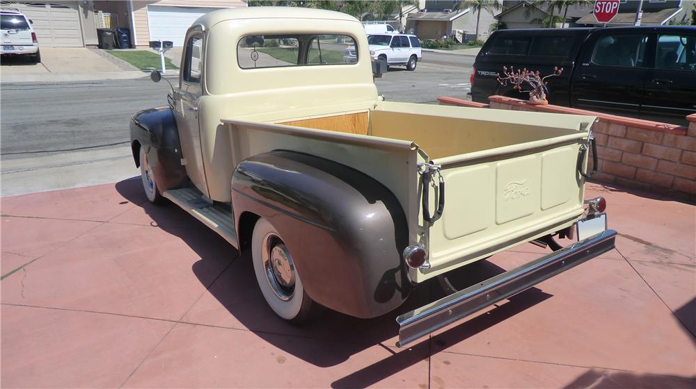 1951 FORD F-1 PICKUP - Rear 3/4 - 130936