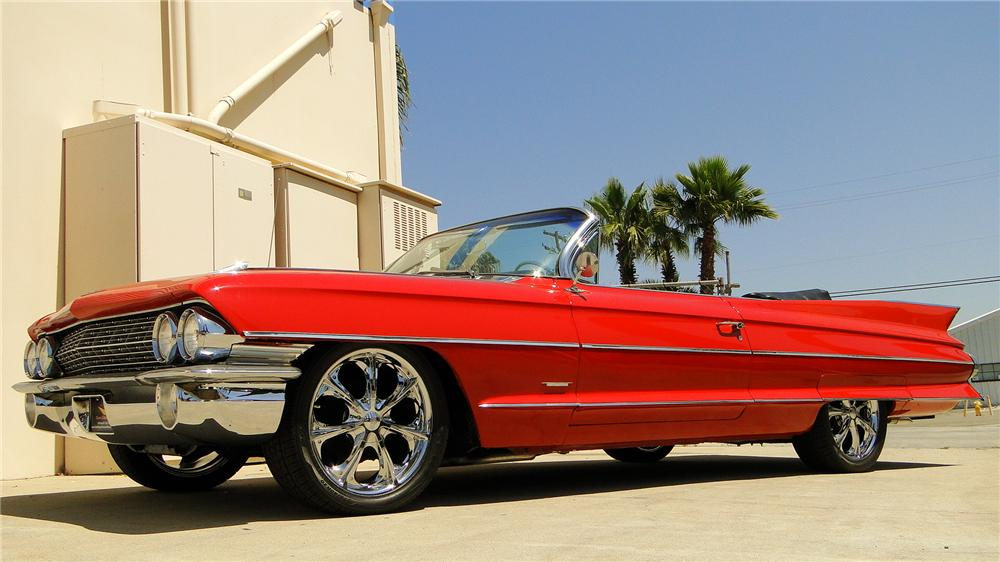 1961 CADILLAC SERIES 62 CONVERTIBLE - Side Profile - 130940
