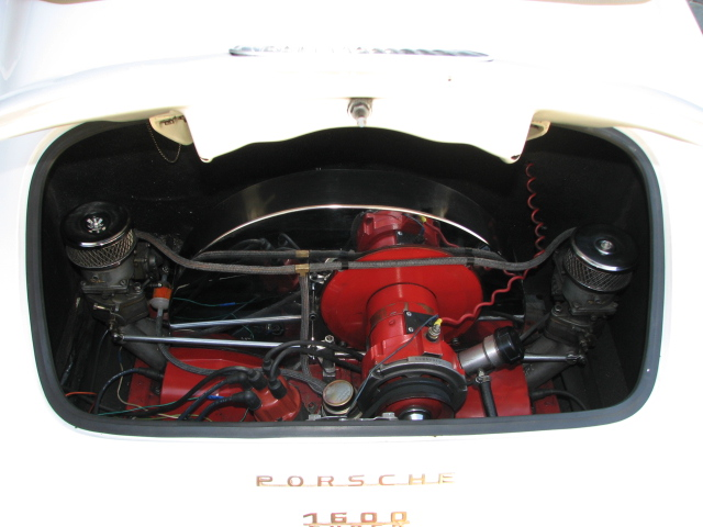 1956 PORSCHE SPEEDSTER RE-CREATION CONVERTIBLE - Engine - 130942