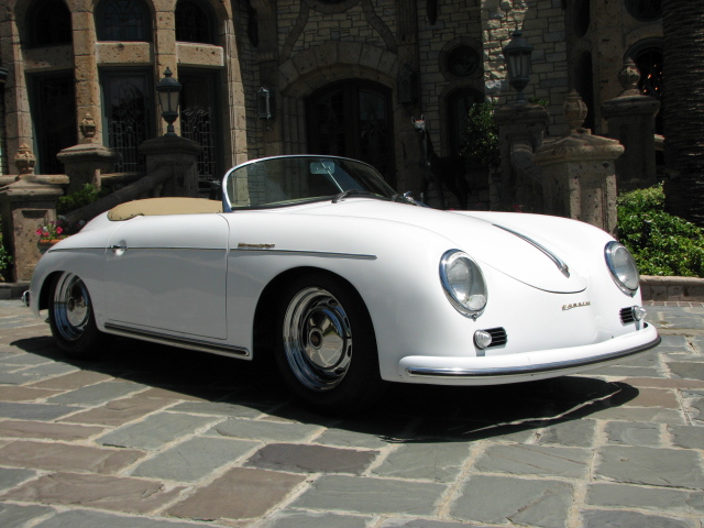 1956 PORSCHE SPEEDSTER RE-CREATION CONVERTIBLE - Front 3/4 - 130942