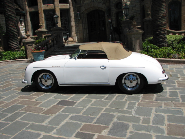 1956 PORSCHE SPEEDSTER RE-CREATION CONVERTIBLE - Rear 3/4 - 130942