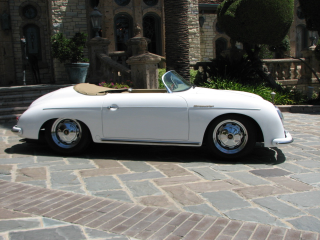 1956 PORSCHE SPEEDSTER RE-CREATION CONVERTIBLE - Side Profile - 130942