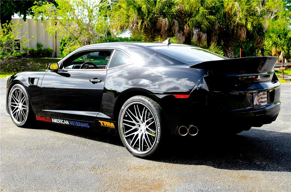 2012 CHEVROLET CAMARO CUSTOM 2 DOOR COUPE - Rear 3/4 - 130945