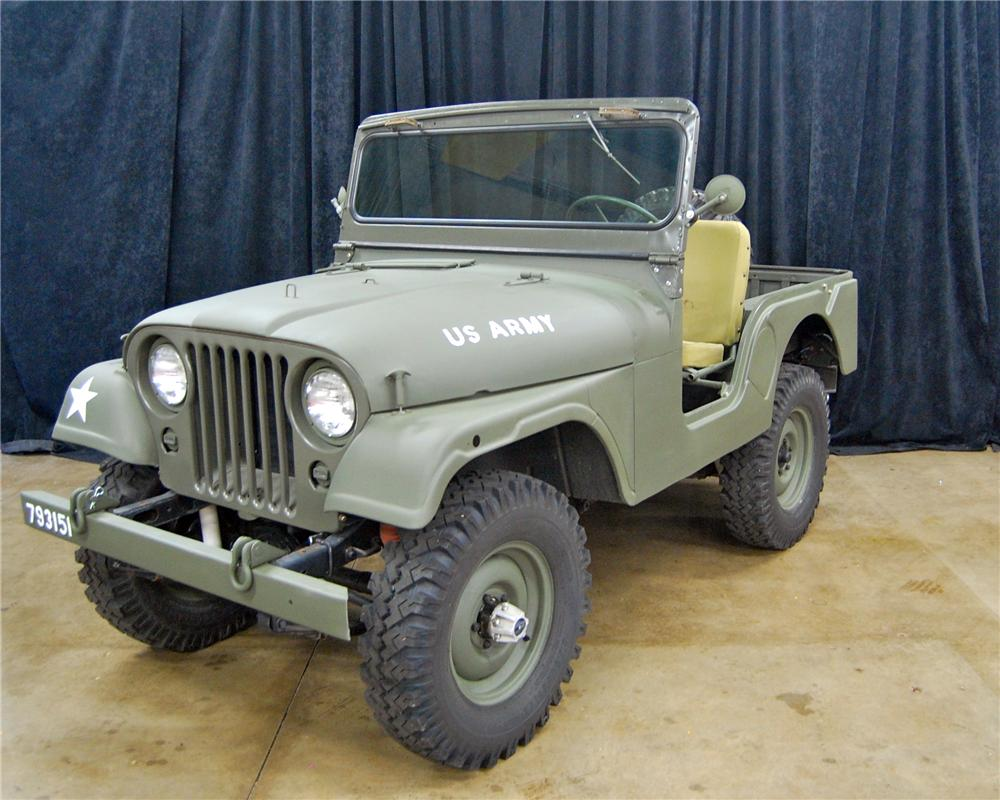 1953 Willys Jeep 130948