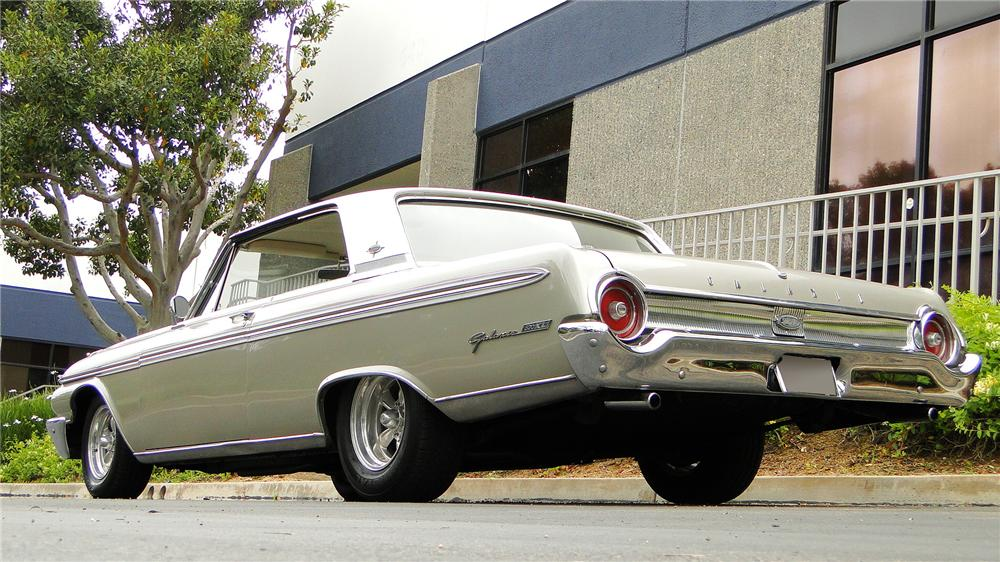 1962 FORD GALAXIE 500 XL 2 DOOR COUPE - Rear 3/4 - 130950