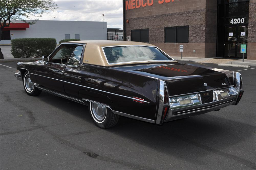1973 Cadillac Coupe De Ville 2 Door Coupe 130952