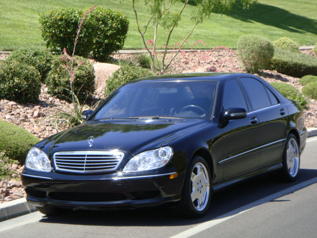 ... 2001 MERCEDES BENZ S430 4 DOOR SEDAN   Front 3/4   130954 ...