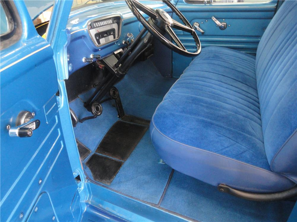 1954 FORD F-100 PICKUP - Interior - 130958