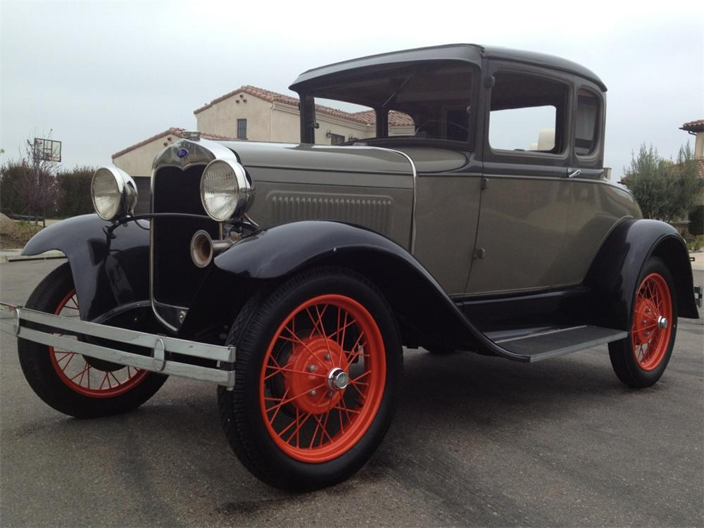 1931 ford model a 2 door coupe 130959