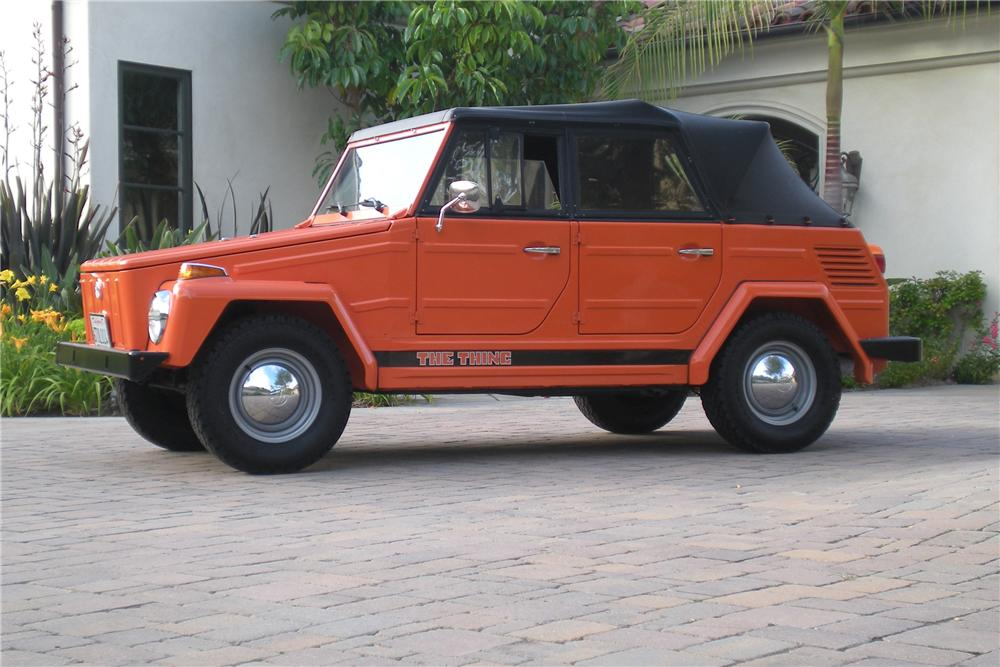 1973 VOLKSWAGEN THING CONVERTIBLE - Side Profile - 130965