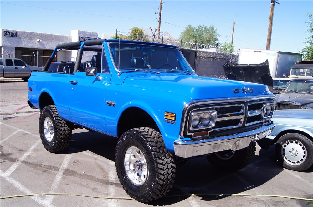 1972 GMC JIMMY CUSTOM SUV - 130968