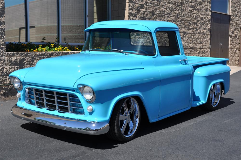 Chevrolet Las Vegas >> 1955 CHEVROLET 3100 CUSTOM PICKUP - 130972