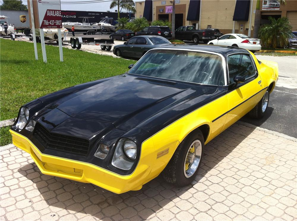 1978 CHEVROLET CAMARO RS 2 DOOR COUPE - Front 3/4 - 130977