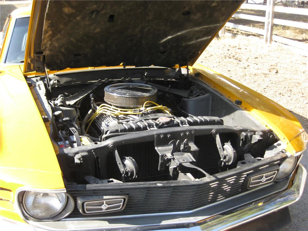 1970 FORD MUSTANG MACH 1 FASTBACK - Engine - 130981