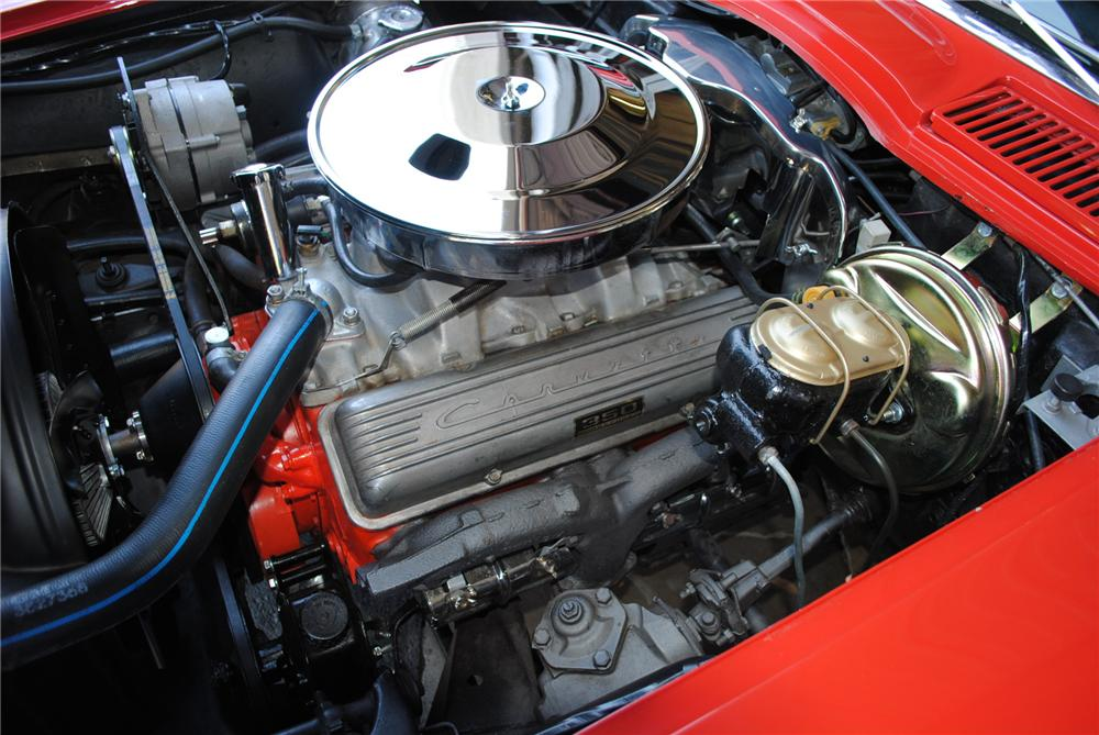 1965 CHEVROLET CORVETTE CONVERTIBLE - Engine - 130986