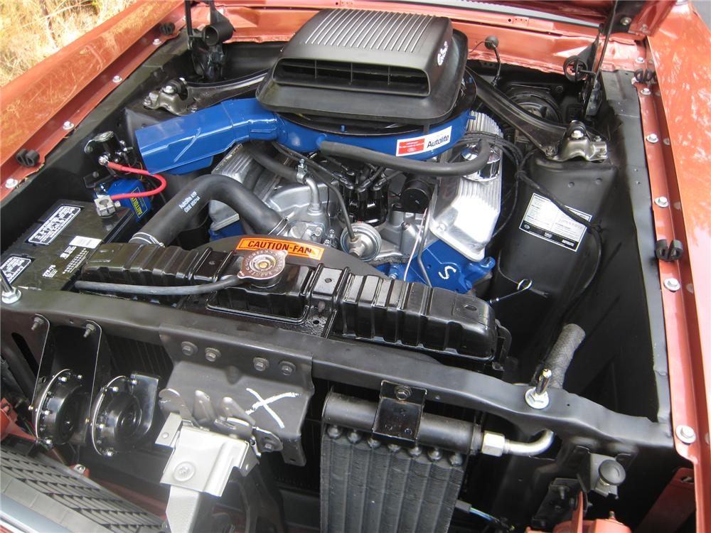"""1969 FORD MUSTANG 428 SCJ """"R"""" FASTBACK - Engine - 130995"""