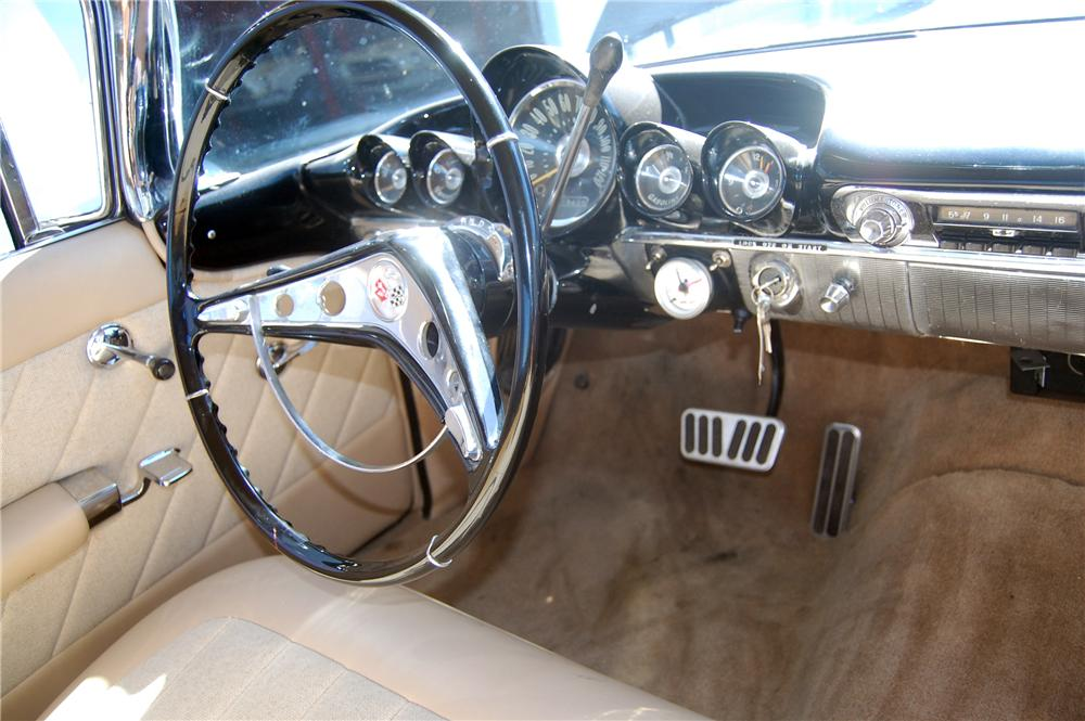 1959 CHEVROLET IMPALA CUSTOM 2 DOOR HARDTOP - Interior - 130997