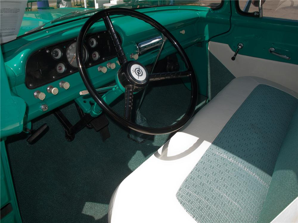 1960 FORD F-100 CUSTOM PICKUP - Interior - 131000