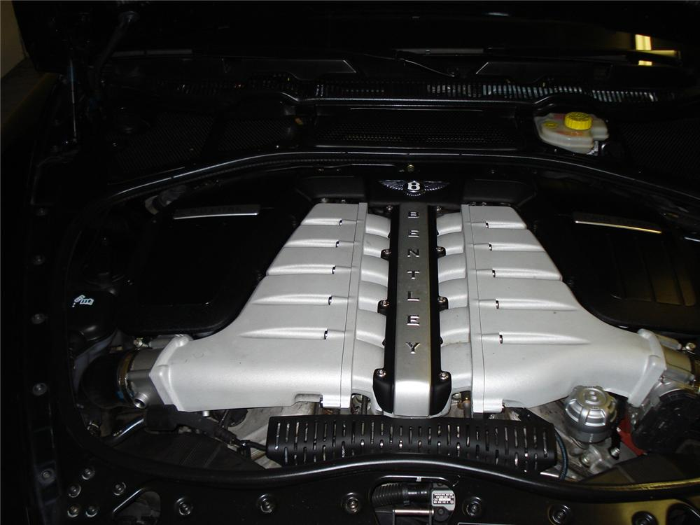 2007 BENTLEY CONTINENTAL GT COUPE - Engine - 131006