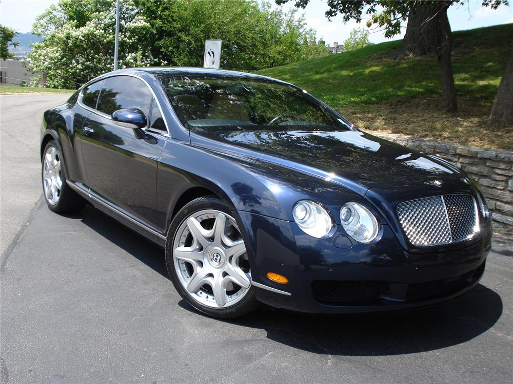 2007 BENTLEY CONTINENTAL GT COUPE - Front 3/4 - 131006