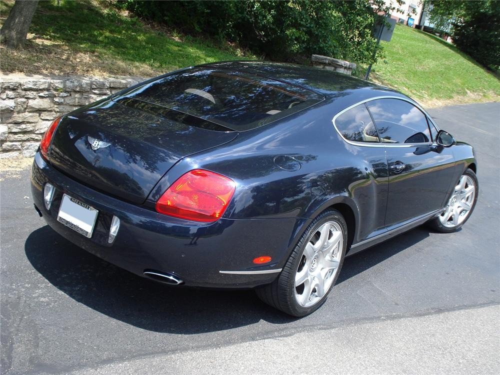 2007 BENTLEY CONTINENTAL GT COUPE - Rear 3/4 - 131006
