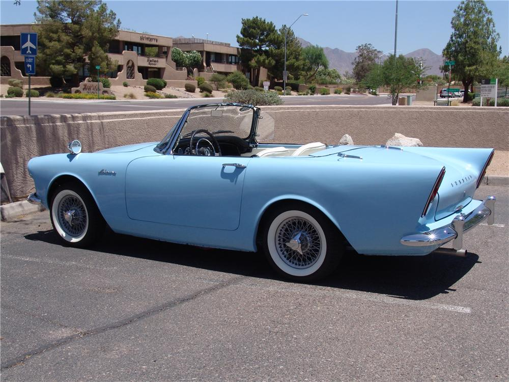 1962 SUNBEAM ALPINE SERIES II ROADSTER - Rear 3/4 - 131008