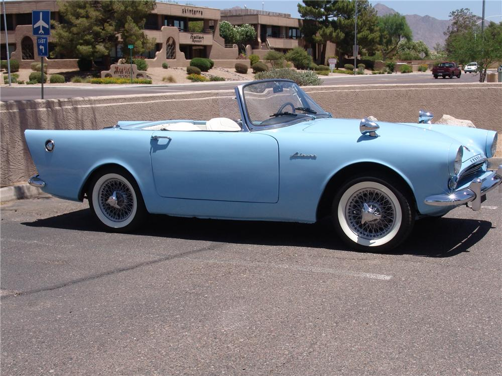 1962 SUNBEAM ALPINE SERIES II ROADSTER - Side Profile - 131008