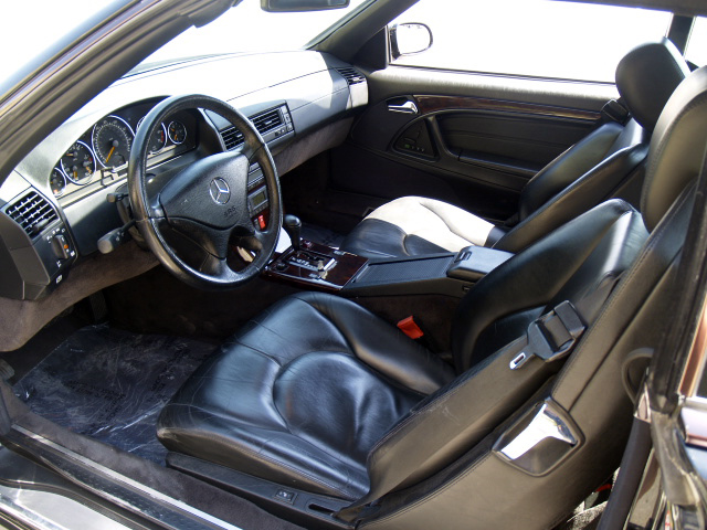 1999 MERCEDES-BENZ SL500 CONVERTIBLE - Interior - 131011