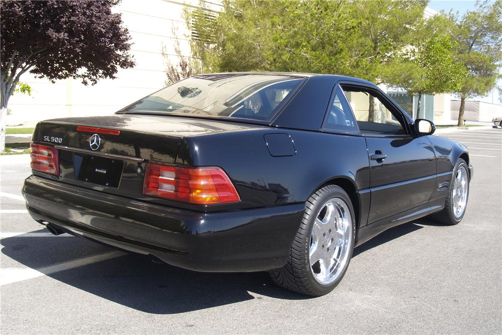 1999 MERCEDES-BENZ SL500 CONVERTIBLE - Rear 3/4 - 131011