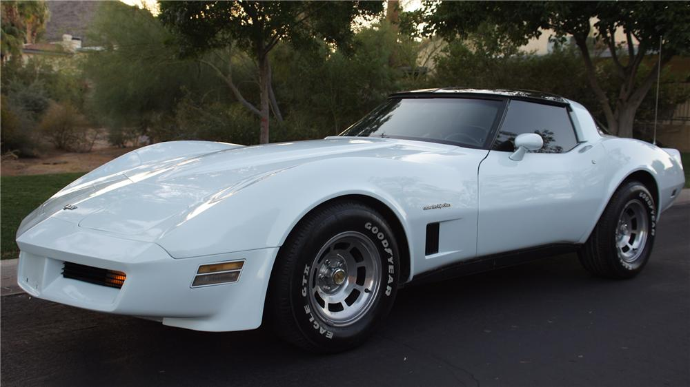1982 Chevrolet Corvette 2 Door Coupe 131015