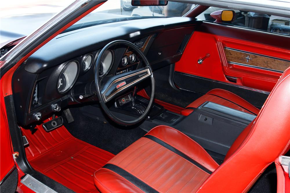 1971 FORD MUSTANG MACH 1 FASTBACK - Interior - 131016