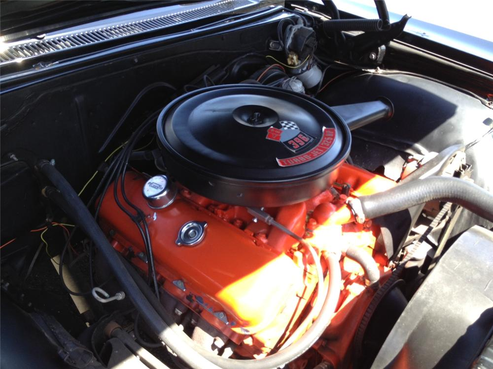 1966 CHEVROLET IMPALA SS CONVERTIBLE - Engine - 131017