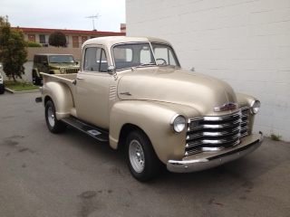 1953 CHEVROLET 3100 5 WINDOW CUSTOM PICKUP - Front 3/4 - 131023