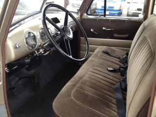 1953 CHEVROLET 3100 5 WINDOW CUSTOM PICKUP - Interior - 131023