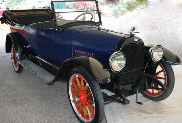 1918 PAIGE TOURING CONVERTIBLE - Front 3/4 - 131034