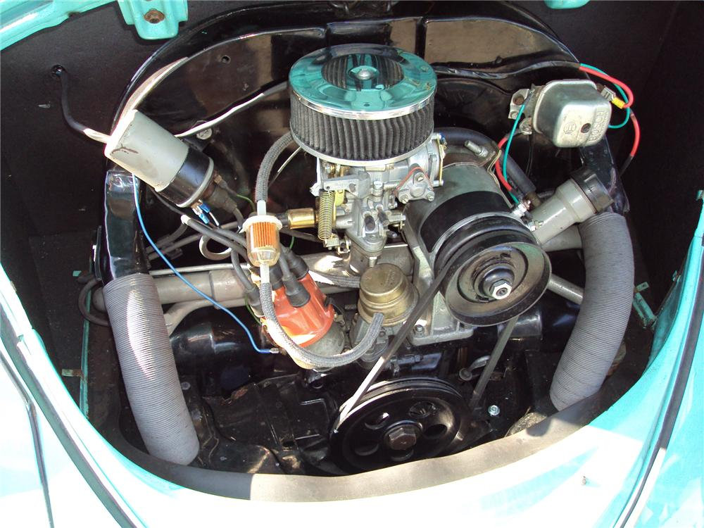 1962 VOLKSWAGEN BEETLE SEDAN - Engine - 131041