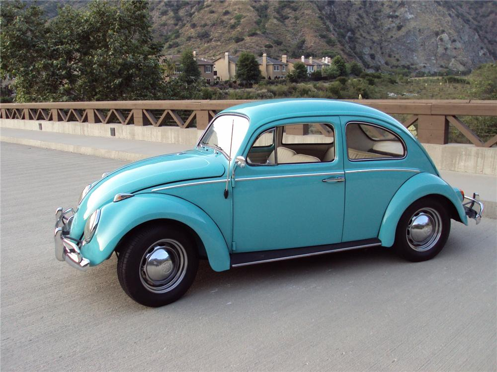 1962 VOLKSWAGEN BEETLE SEDAN - Side Profile - 131041