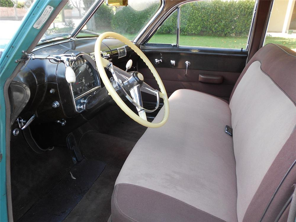 1948 CADILLAC SERIES 62 4 DOOR SEDAN - Interior - 131042