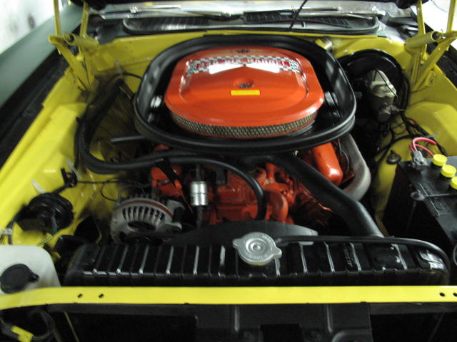 1970 PLYMOUTH CUDA AAR 2 DOOR COUPE - Engine - 131043