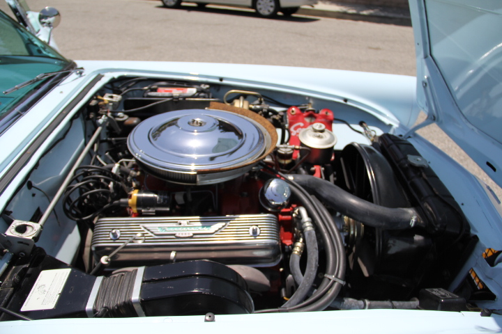 1957 FORD THUNDERBIRD CONVERTIBLE - Engine - 131046