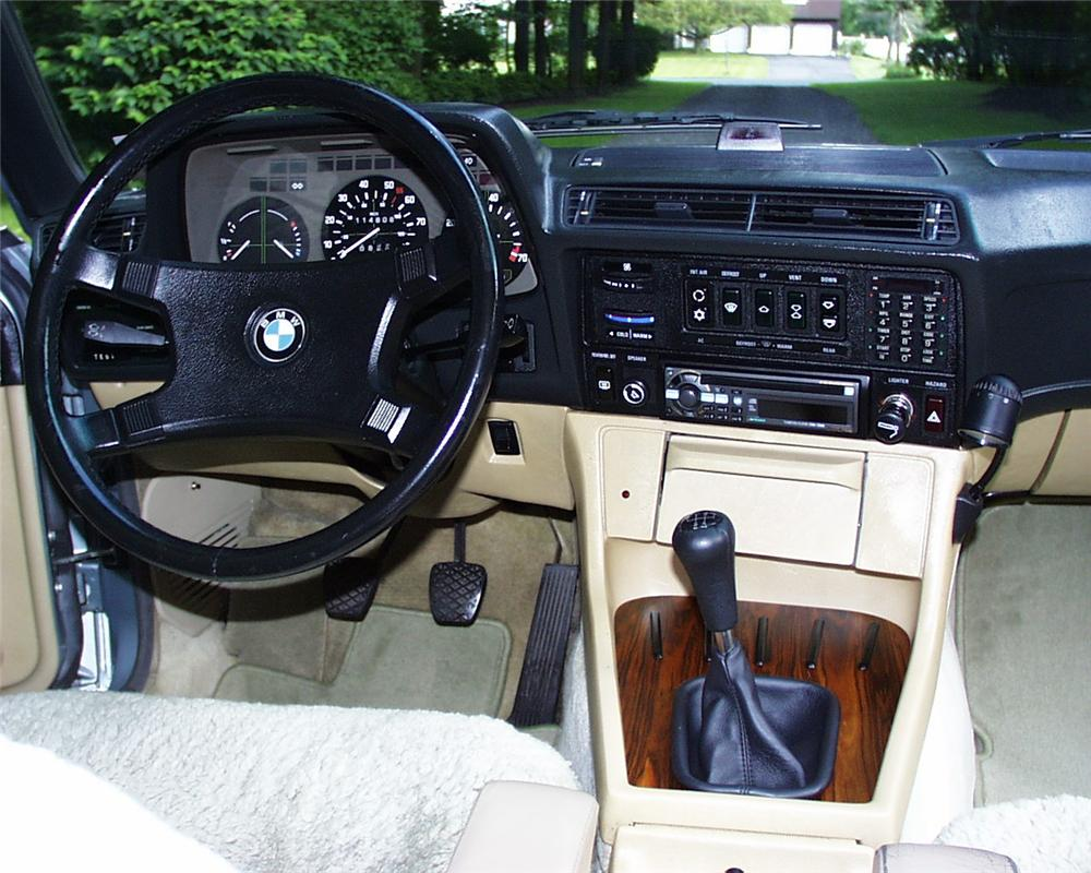 1981 BMW 733I 4 DOOR SEDAN - Interior - 131047